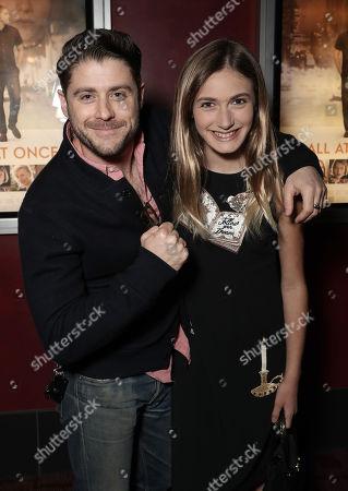 Director/Actor Jon Abrahams and Nicole Elizabeth Berger