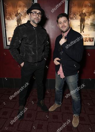 Writer Michael Testone and Director/Actor Jon Abrahams