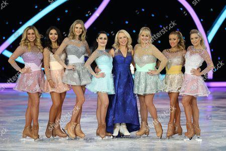 Stock Image of Alexandra Murphy, Vanessa Bauer, Donna Air, Ale Izquierdo, Jayne Torvill, Cheryl Baker, Brianne Delcourt, Alexandra Schauman
