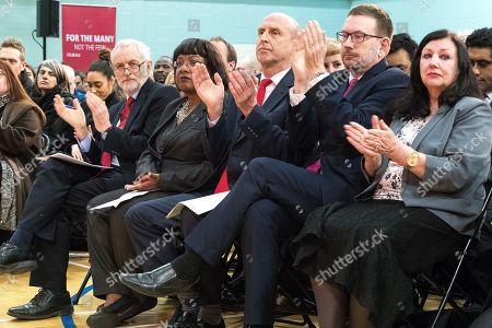 Jeremy Corbyn, Diane Abbott, John Healey, Andrew Gwynne