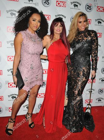 Danielle Brown, Kerry Katona and Ampika Pickston