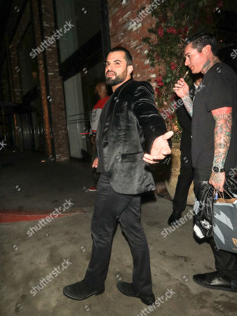 Editorial photo of Celebrities at Avenue Nightclub, Los Angeles, USA - 21 Mar 2018