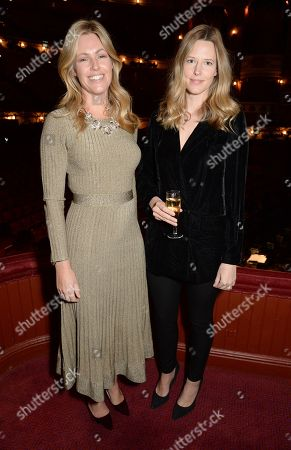 Stock Image of Marina Fogle and Olivia Hunt
