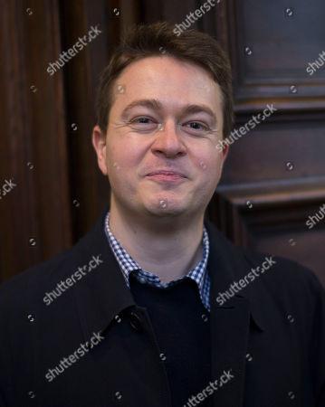Stock Image of Johann Hari