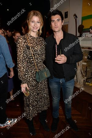 Editorial photo of 'Jewels, Jazz and Blackwell Rum' at Jessica McCormack, London, UK - 22 Mar 2018
