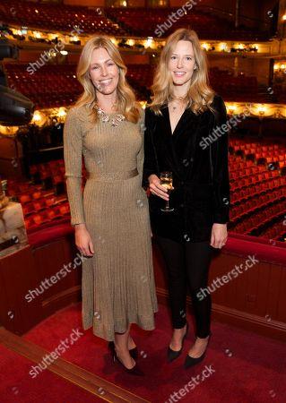 Marina Fogle and Olivia Hunt