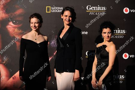 Sofia Doniants, Valentina Belle and Maria Jose Bavio