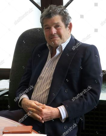 Stock Image of Rolling Stone founder Jann Wenner poses for a portrait in his New York office. Wenner feels the #MeToo movement shows an absence of due process. He said he feels that mere accusations of sexual impropriety are threatening careers, many times without corroboration with people losing their jobs