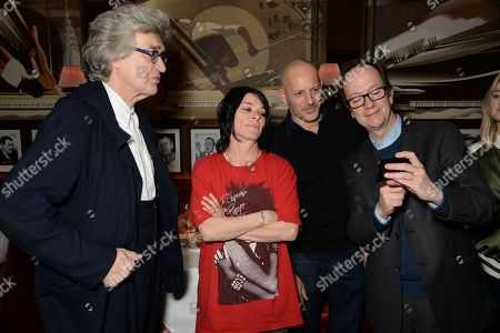 Wim Wenders, Sue Webster, Graham Southern