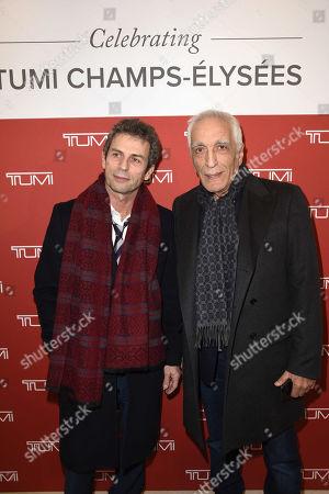 Frédéric Taddeï and Gerard Darmon