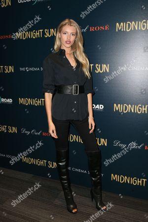 Editorial picture of 'Midnight Sun' film screening, Arrivals, New York, USA - 22 Mar 2018