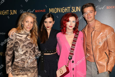 Stock Image of Jen Gatien, Quinn Shephard, Patrick Schwarzenegger and Bella Thorne