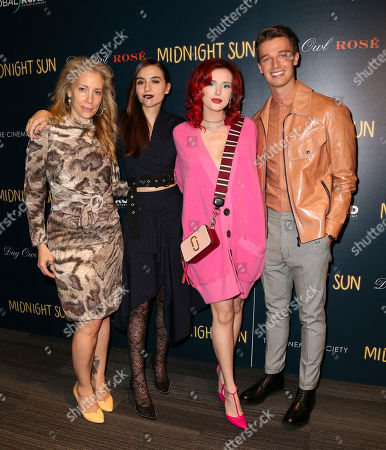 Editorial picture of 'Midnight Sun' film screening, Arrivals, New York, USA - 22 Mar 2018