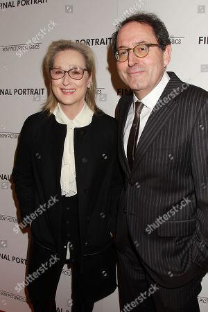 Meryl Streep and Michael Barker