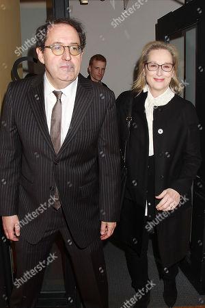 Michael Barker and Meryl Streep