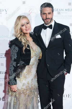 Stock Picture of Anastacia and Raul Olivo
