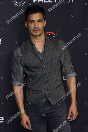 """Nicholas Gonzalez, a cast member in the television series """"The Good Doctor"""" arrives at the 35th Annual PaleyFest at the Dolby Theatre, in Los Angeles"""