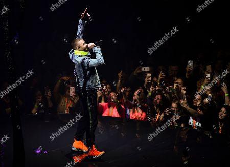 Singer Justin Timberlake Performs At Madison Square Garden During The
