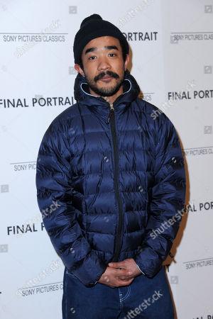 Editorial image of 'Final Portrait' film screening, Arrivals, New York, USA - 22 Mar 2018