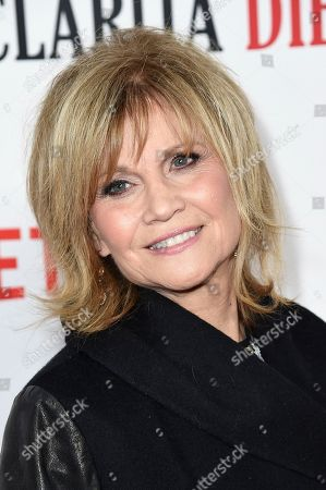 """Stock Picture of Markie Post attends the LA Premiere of """"Santa Clarita Diet"""" Season 2 at ArcLight Hollywood, in Los Angeles"""