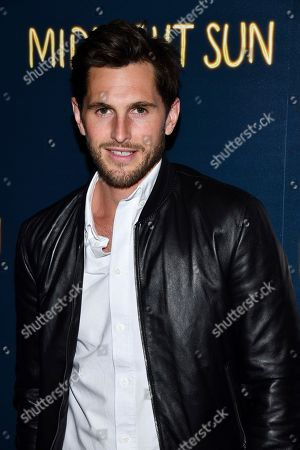 "Jake Davies attends a screening of ""Midnight Sun"" hosted by The Cinema Society at the Landmark at 57 West, in New York"
