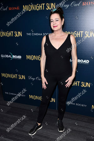 """Sean Young attends a screening of """"Midnight Sun"""" hosted by The Cinema Society at the Landmark at 57 West, in New York"""