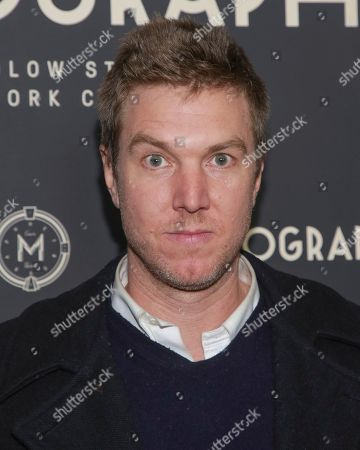 Stock Image of Hamilton Leithauser attends the second year anniversary of Metrograph, in New York