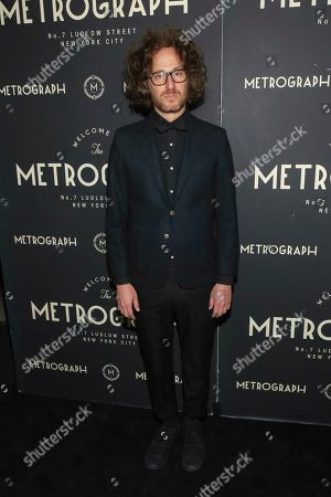 Founder and president of Metrograph Alexander Olch attends the second year anniversary of Metrograph, in New York