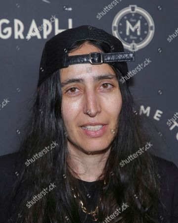 Stock Photo of Voula Duval attends the second year anniversary of Metrograph, in New York