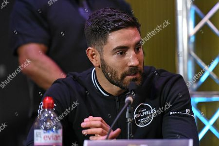 Frank Buglioni during a Press Conference at the Sky Backstage Bar on 22nd March 2018