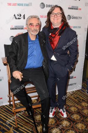 Burt Reynolds and Clark Duke