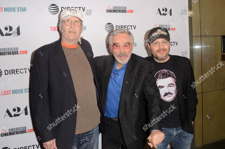 Stock Image of Chevy Chase, Burt Reynolds and Adam Rifkin
