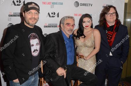 Adam Rifkin, Burt Reynolds, Ariel Winter, Clark Duke