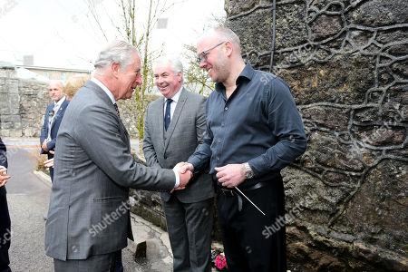 Prince Charles meets Adam Green, Musical Director at HMP Dartmoor