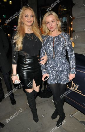 Stock Photo of Victoria Eisermann and Pola Pospieszalska
