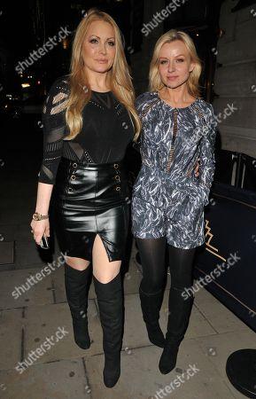 Stock Picture of Victoria Eisermann and Pola Pospieszalska