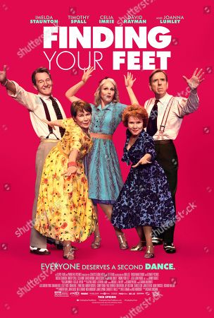"""Editorial image of """"Finding Your Feet"""" Film - 2017"""