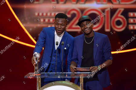 Reggie Zippy & Bollie presented the award for Best Young Performance