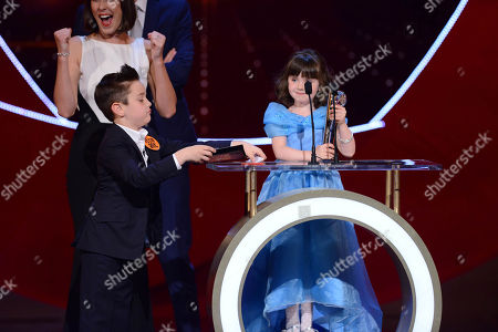 Best Young Performance Presented by Little Ant & Dec (Panel Voted Category) the Winner is: Emmerdale: Amelia Flanagan (April Windsor)