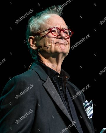 Bill Murray performs onstage