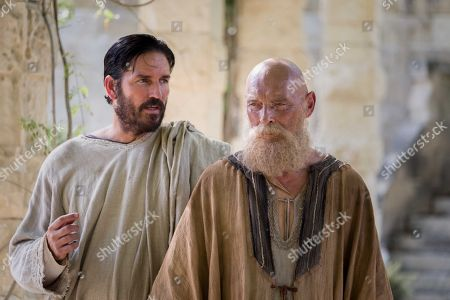 Stock Photo of Jim Caviezel, James Faulkner