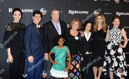 Whitney Cummings, Michael Fishman, John Goodman, Roseanne Barr, Sara Gilbert, Sarah Chalke, Emma Kenney
