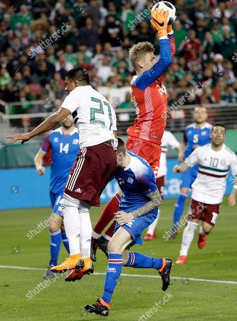 Editorial picture of Iceland Mexico Soccer, Santa Clara, USA - 23 Mar 2018