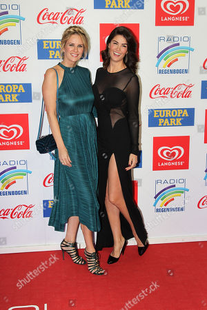 Monica Ivancan mit Schwester Miriam Mack