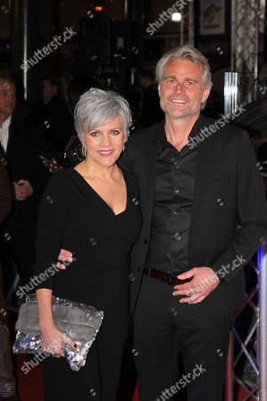 Birgit Schrowange mit partner Frank