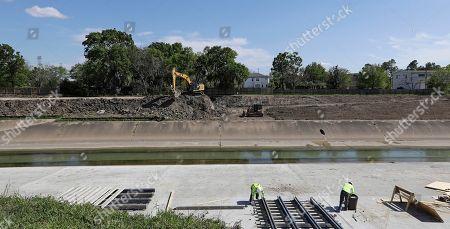 Editorial photo of Harvey Flood Mitigation Projects, Houston, USA - 22 Mar 2018
