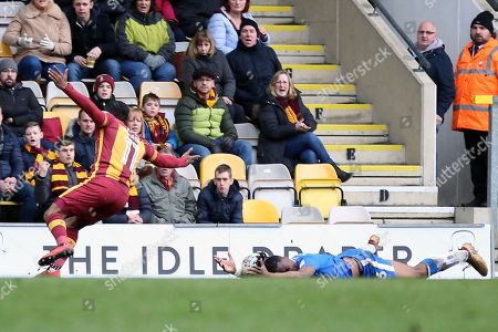 Editorial photo of Bradford City v Gillingham, EFL Sky Bet League 1 - 24 Mar 2018
