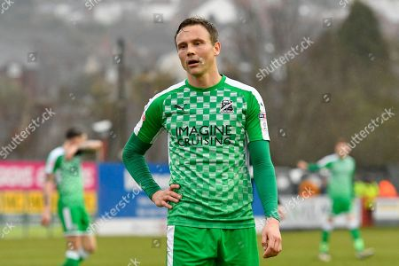 Matthew Taylor (31) of Swindon Town during the EFL Sky Bet League 2 match between Exeter City and Swindon Town at St James' Park, Exeter. Picture by Graham Hunt