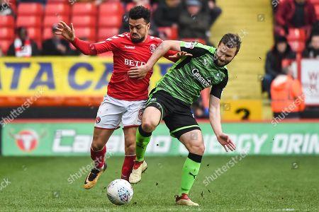 Editorial image of Charlton Athletic v Plymouth Argyle, EFL Sky Bet League 1 - 24 Mar 2018
