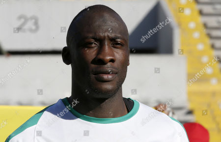 Senegal player Cheikh Ndoye is pictured before a friendly soccer match between Senegal and Uzbekistan in Casablanca, Morocco